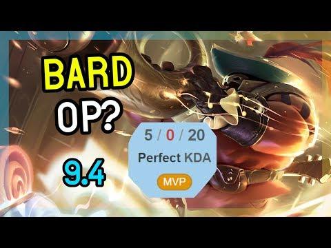 BARD SUPPORT IS HIDDEN OP? - League of Legends