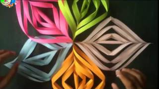 DIY - cara membuat dekorasi Ulang Tahun cantik dari origami