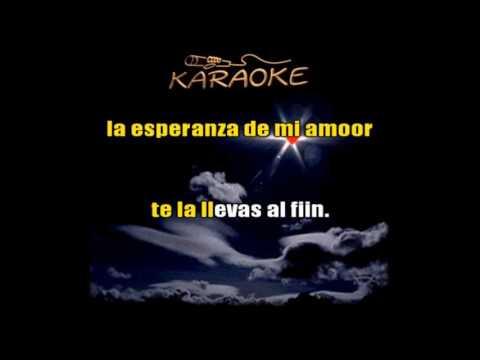 Karaoke - Bolero - Sin ti -  Los Panchos - Autor: José