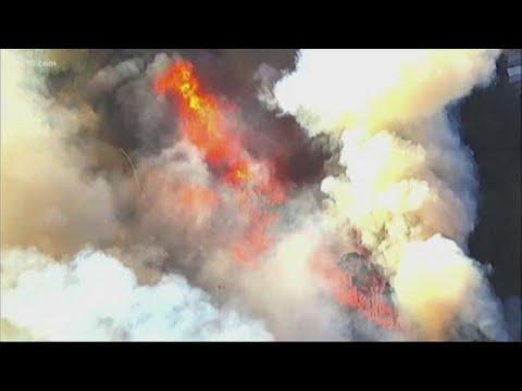 California Fires, PG&E Power Shutoffs & California Winds | 11 am update