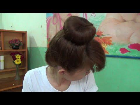 Hairstyles - Cách Búi Tóc Đẹp Và Cực Dễ Với Băng Đô Tai Thỏ