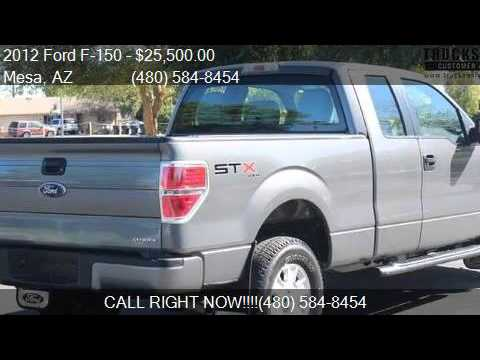 2012 ford f 150 stx 4x4 3 7l v6 for sale in mesa az 85210 a youtube. Black Bedroom Furniture Sets. Home Design Ideas