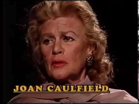 Joan Caulfield, Macdonald Carey--1989 TV Interview