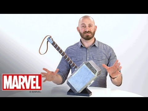 Marvel Legends - 'Thor Mjolnir Electronic Hammer' Designer Desk