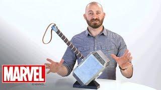Martello elettronico di Thor Mjolnir Hasbro Hasbro Marvel Legends