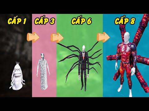 GTA 5 - Tôi là Slenderman tiến hóa từ quái vật mập heo đến Slenderman tối thượng siêu to   GHTG
