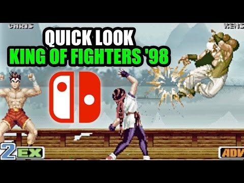 Nintendo Switch Quick Look - KING OF FIGHTERS '98