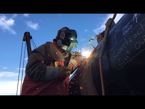 Hill Section Cut Out And Weld - Pipeline Welding
