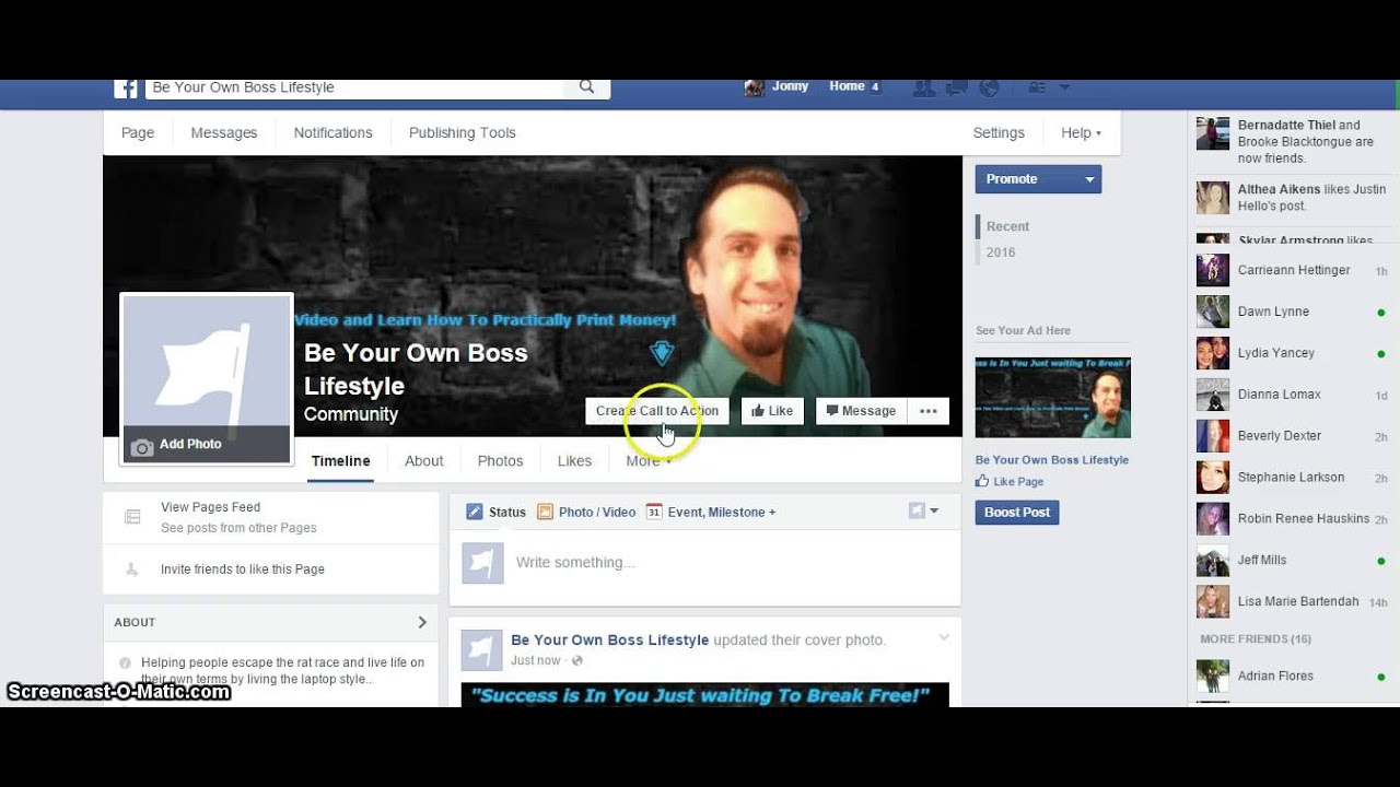 How To Create A Facebook Fan Page 2016