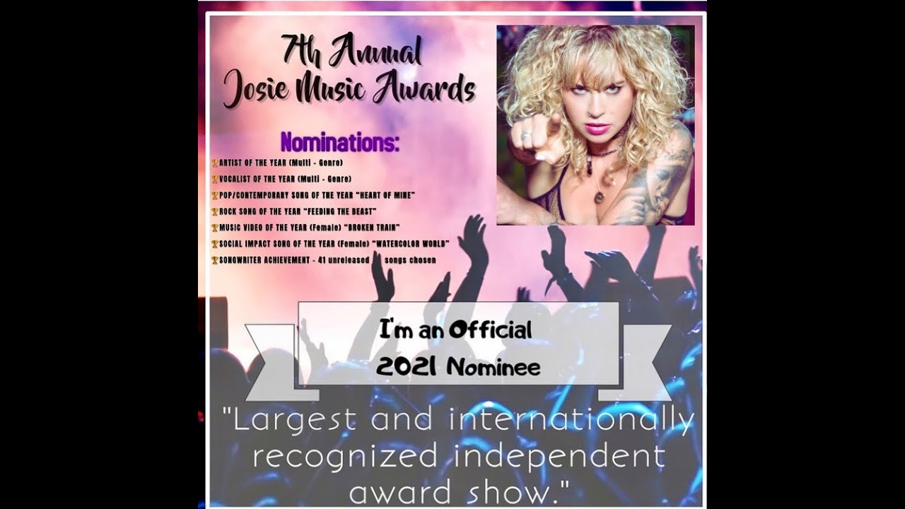 Clare Cunningham nominated in 7 categories at this years Josie Music Awards, 2021
