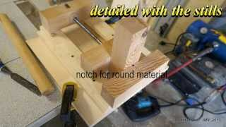 A Drill Press Vise With A Twist
