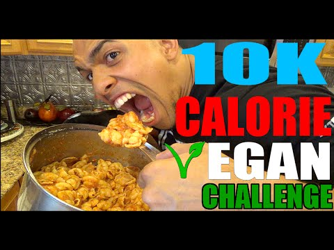 10K Calorie Vegan Challenge | BODYBUILDER VS VEGAN FOOD | EPIC CHEAT DAY