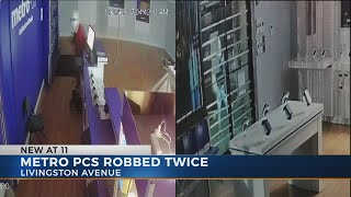 Columbus MetroPCS store burglarized twice in three days