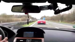 BMW M6 V10 G POWER vs Ferrari F430