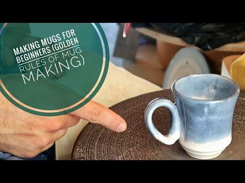 Mugs For Beginners (Golden Rules Of Mug Making)
