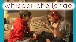 WHISPER CHALLENGE - KIDS EDITION