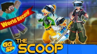 Minecraft Records, Kingdom Hearts VR, And Boring Controllers! | The Scoop thumbnail
