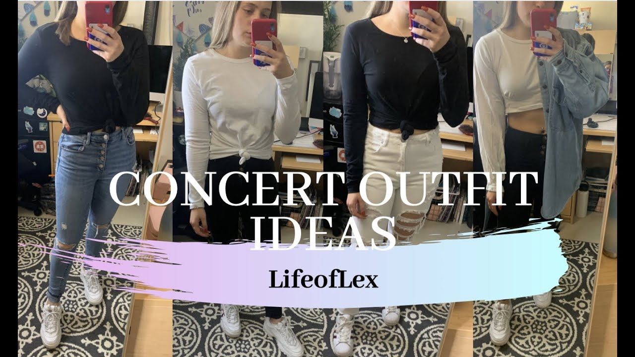 [VIDEO] - Concert Outfit Ideas for Fall!! 2