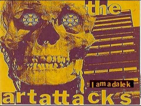 ART ATTACKS- I Am A  Dalek