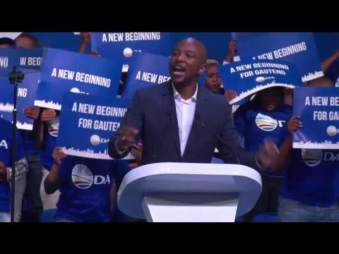 DA Gauteng Congress 2017 - DA Leader Mmusi Maimane