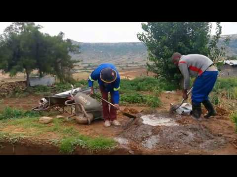 Biogas project in Lesotho