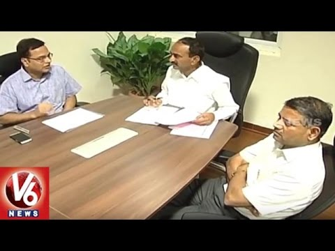 Minister Eteal Rajender Team Gujarat Tour To Supervise Sabarmati Riverfront Project | V6 News