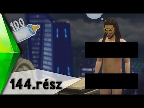 The Sims 4 - 100 Baba Kihívás - Szexi fehérnemű :D - 144. rész
