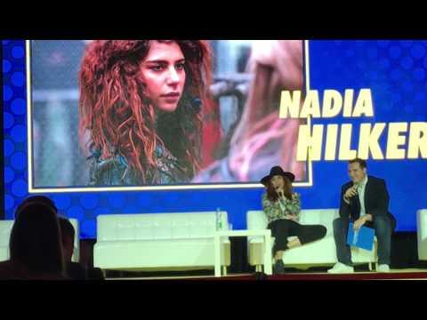 Nadia Hilker on... Donald Trump at  Comic Con Warsaw 2017
