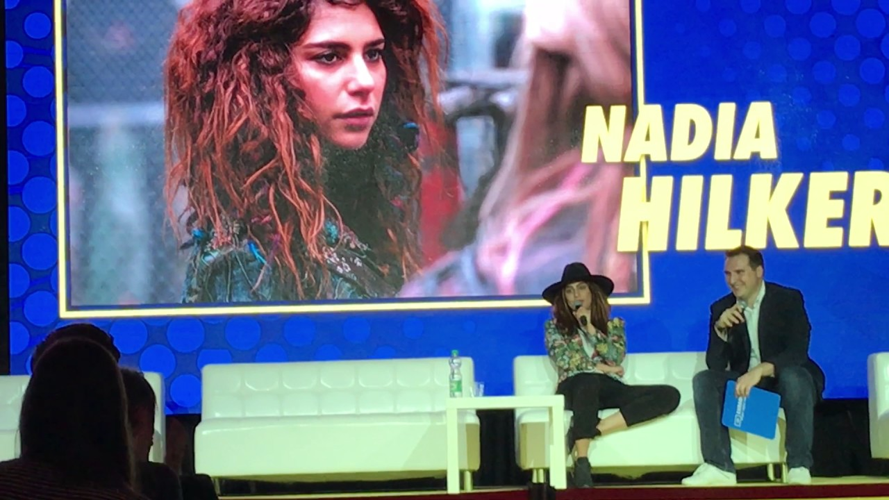 Nadia Hilker on... Donald Trump at  Comic Con Warsaw 2017