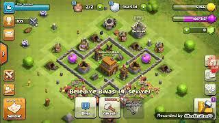 Tüm duvarlar 3 seviye-Clash of Clans