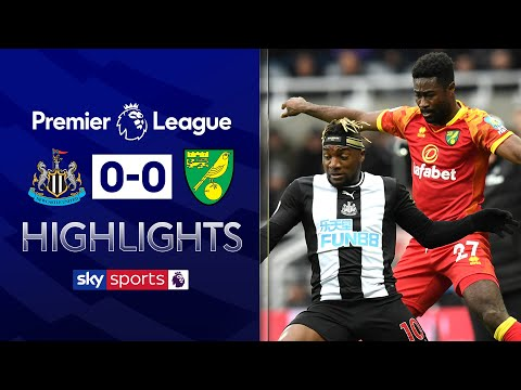 Newcastle & Norwich spurn chances! | Newcastle 0-0 Norwich | EPL Highlights