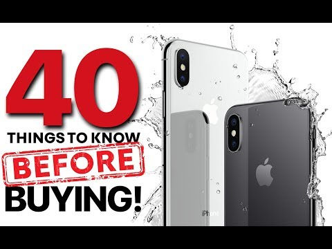 Download Youtube: iPhone X & 8 - 40 Things Before Buying!
