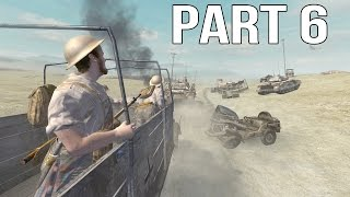 Call of Duty 2 Gameplay Walkthrough Part 6 - British Campaign - El Alamein 2/2