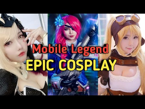 Epic Girl Heroes Cosplay-Mobile Legends