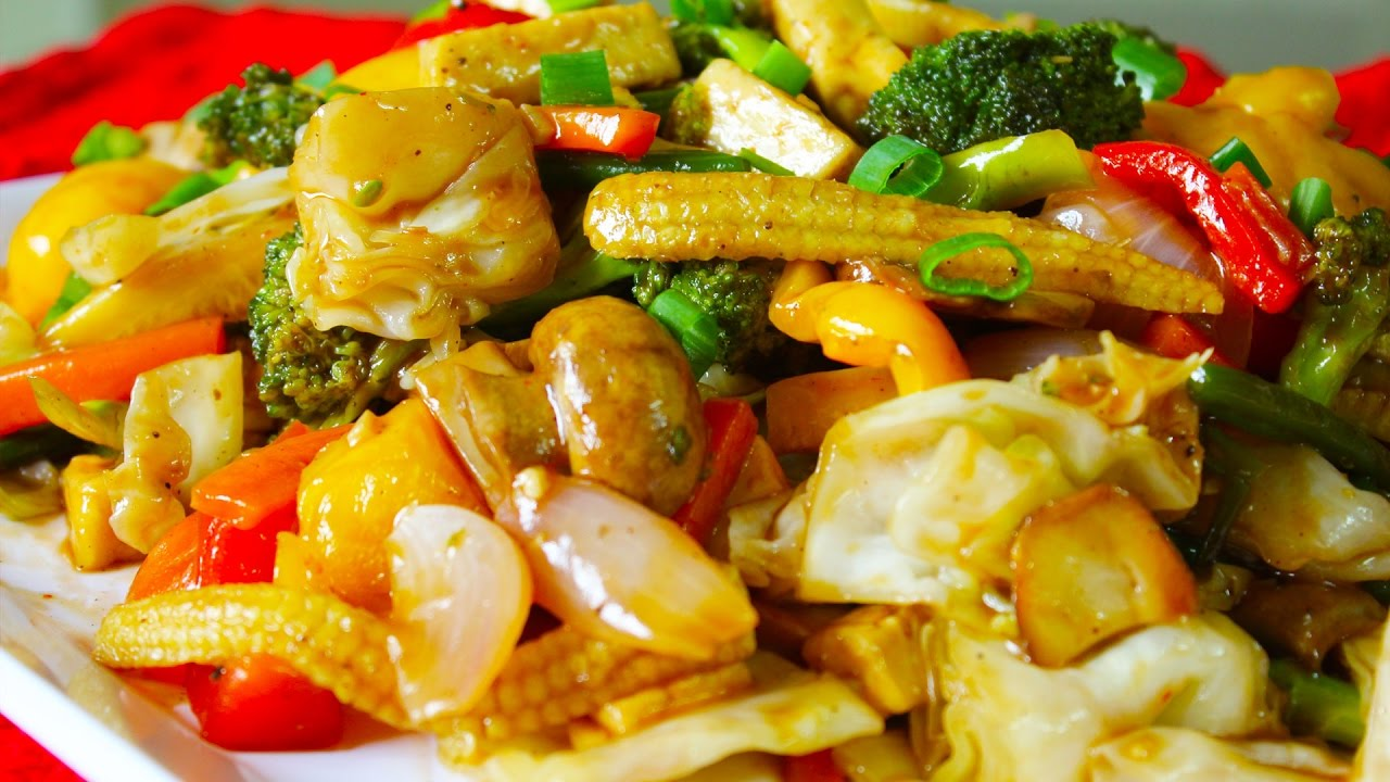 Vegetable Stir Fry Sauteed Vegetables Healthy