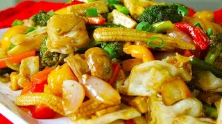 Vegetable Stir Fry | Sauteed Vegetables | Healthy Vegetarian Recipe | Kanak's Kitchen