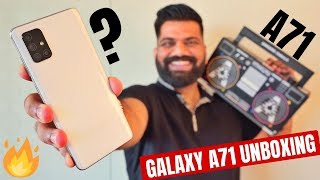 Samsung Galaxy A71 Unboxing & First Look - Latest in Galaxy A Series | 64MP+SD730 +4500mAh🔥🔥🔥