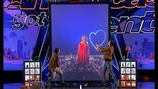 Tony & Jordan - French Twins: GROUNDBREAKING Hi-tech Magic!! | America's Got Talent 2017