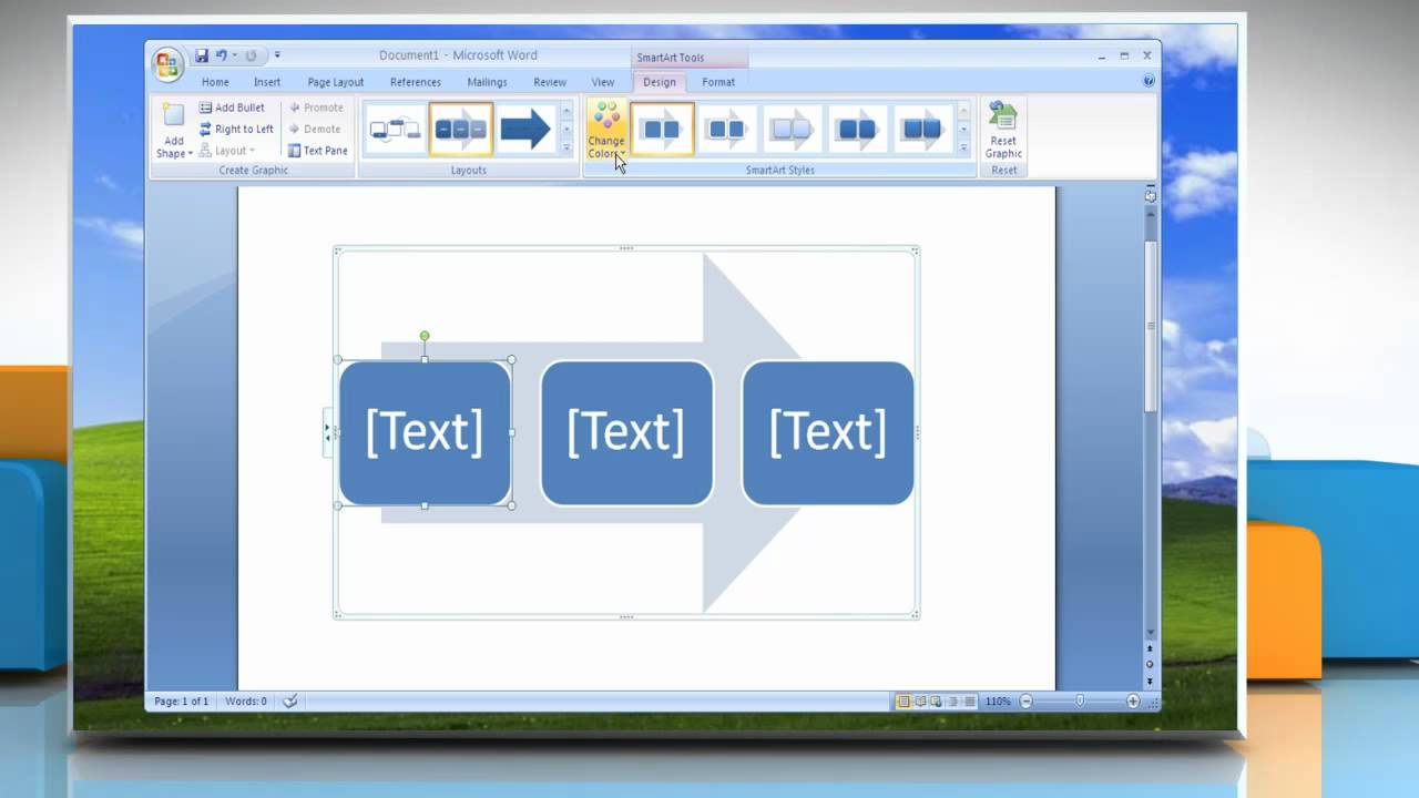 Microsoft word 2007 how to change colors of a flow chart on microsoft word 2007 how to change colors of a flow chart on windows xp geenschuldenfo Image collections
