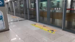 9호선 종합보훈병원행 급행열차9×23편성 당산역 발차 …