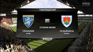 Футбол Frosinone Италия Numancia Испания Виртуальный Кубок Random CUP 1 4 финала FIFA