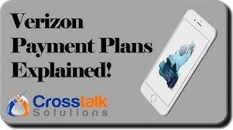 Verizon Payment Plans Explained