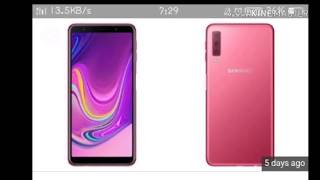 Unboxing Samsung A7 First review 2018  Trending news  