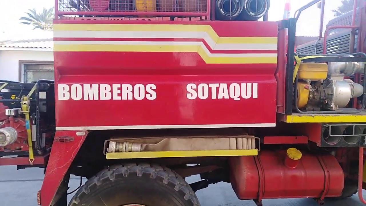 Unidades BF5 de bomberos #Ovalle ( #Sotaquí )