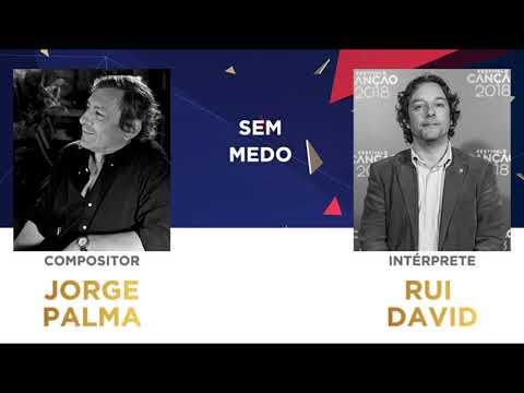 Sem Medo (45'') - Jorge Palma | Festival da Canção 2018