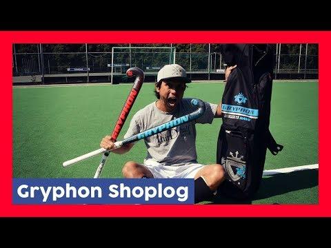 Gryphon Field Hockey Haul / Shoplog - Lawrence Hockeyvlog #8 | Hockey Heroes TV