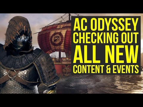 Assassin's Creed Odyssey DLC - Checking Out All The New Stuff (Weekly Reset April 23)