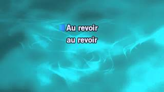 Mark Forster feat,. Sido: Au revoir - Karaokevideo