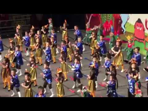 Melvin limbu kindergarten graduations ceremony dance 8-72016