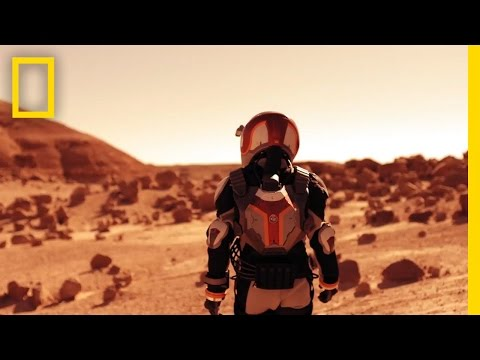 Intense 360° video takes you for a quick jaunt to Mars